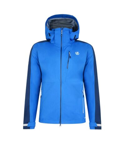 Dare 2B Mens Diluent Lightweight Waterproof Jacket With Detachable Hood (Oxford Blue/Admiral Blue) - UTRG4120
