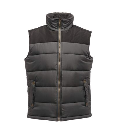 Regatta Mens Standout Altoona Insulated Bodywarmer Jacket (Seal Grey/Black) - UTRG1619