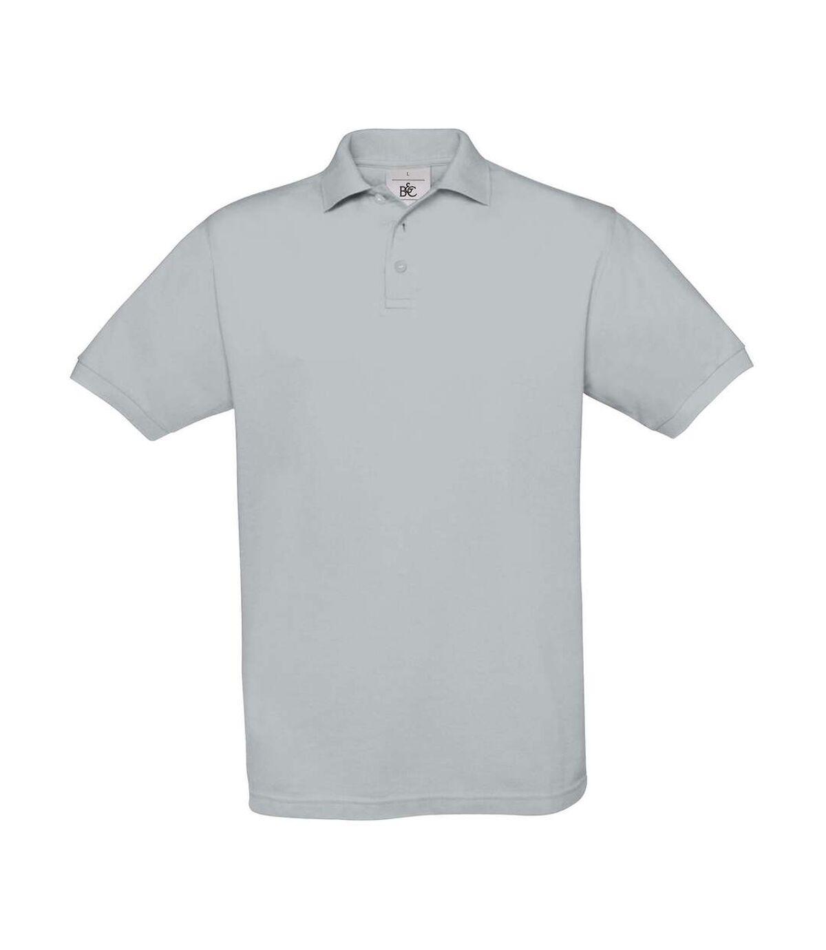 Polo manches courtes - homme - PU409 - gris pacifique
