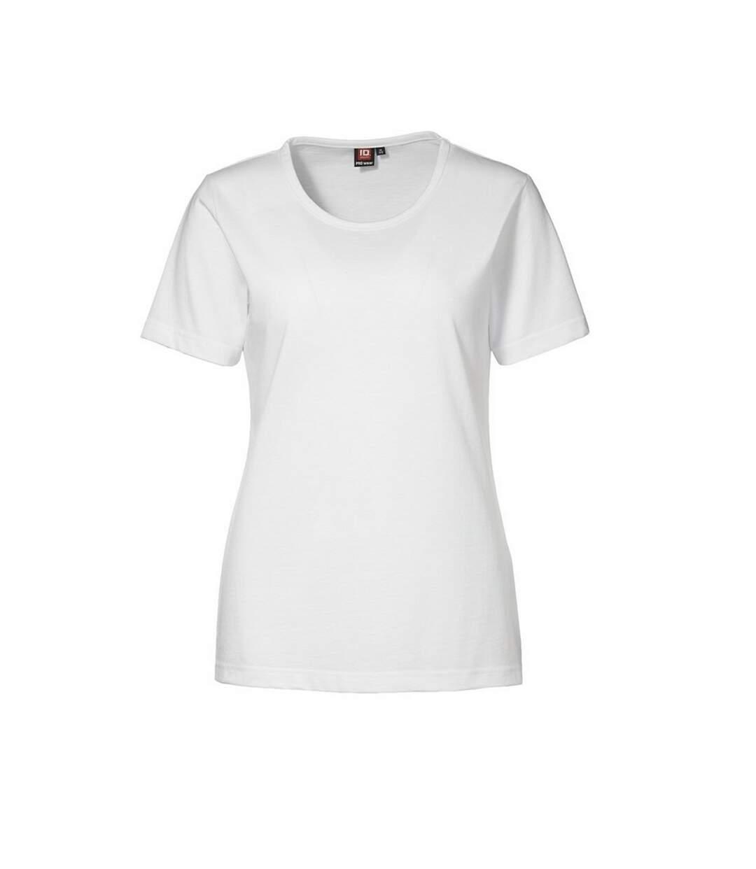Id - T-Shirt À Manches Courtes - Femme (Blanc) - UTID171