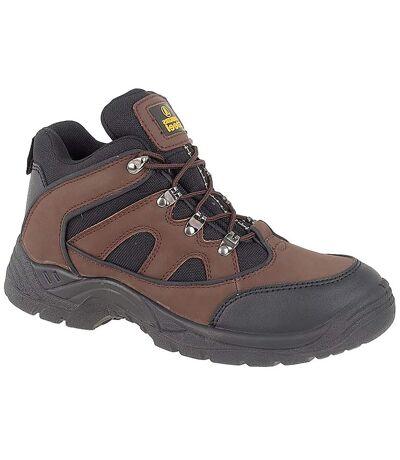 Amblers Unisex Steel FS152 SB-P Mid Boot / Mens Womens Boots (Brown) - UTFS253