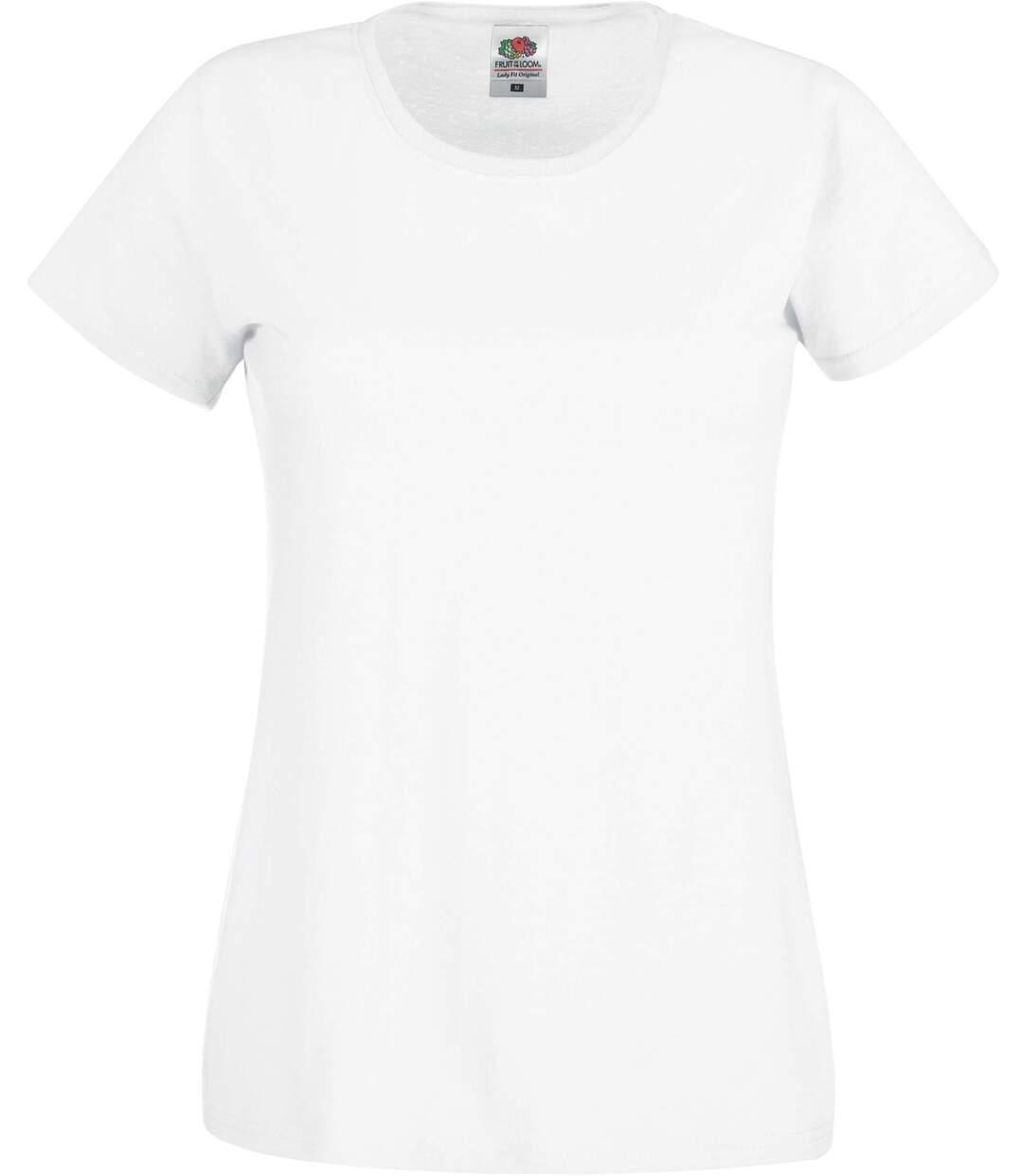 T-shirt léger manches courtes col rond