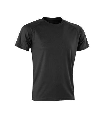 Spiro Mens Aircool T-Shirt (Black) - UTPC3166
