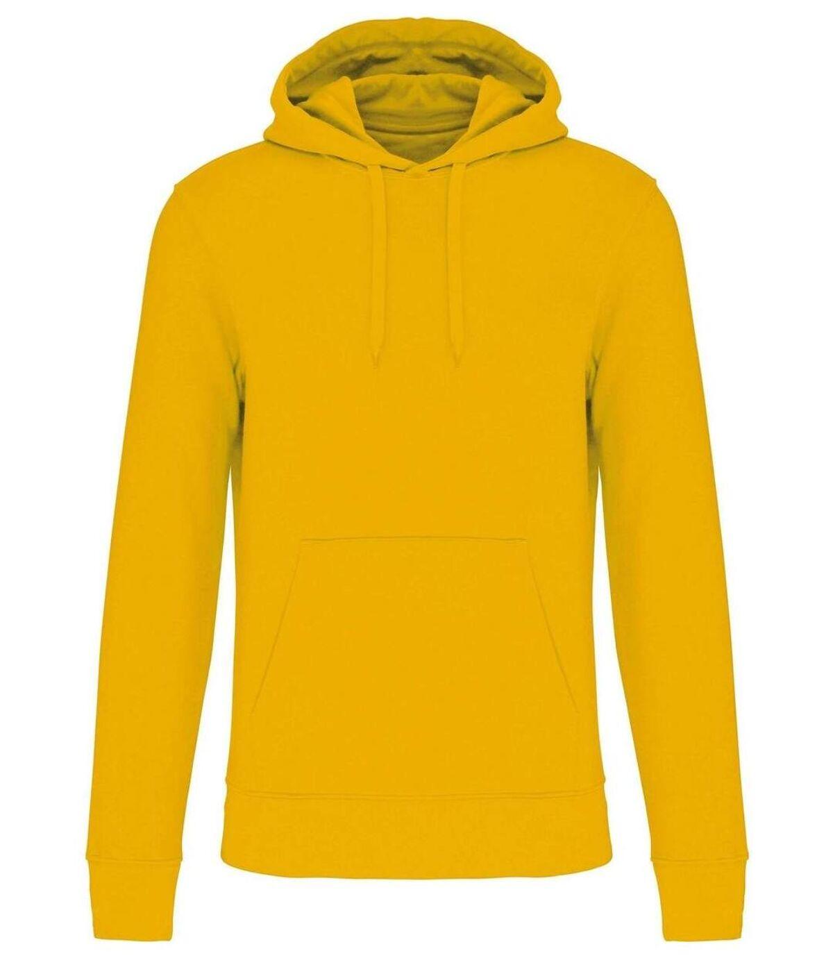 Sweat à capuche écoresponsable - Homme - K4027 - jaune