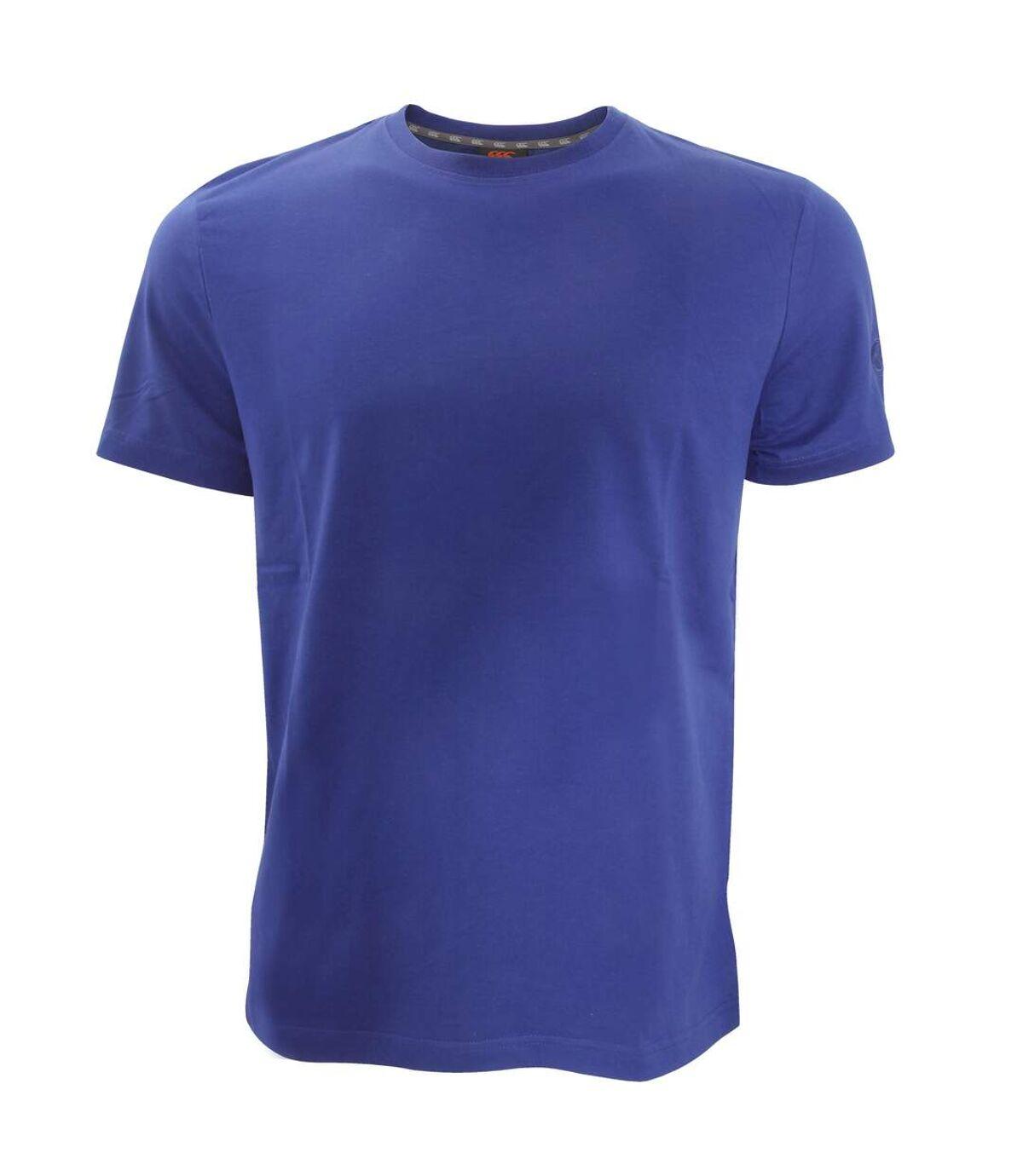 Canterbury Mens Team Plain Short Sleeve T-Shirt (Red) - UTPC2483