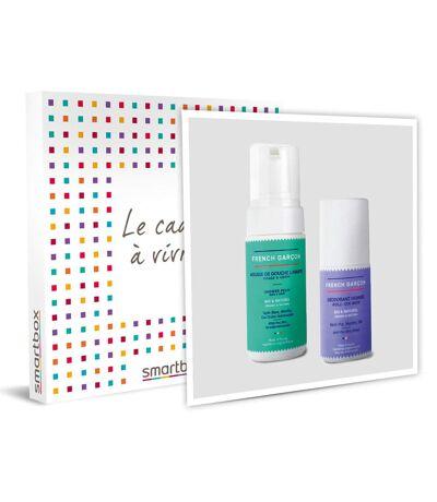 SMARTBOX - 2 produits d'hygiène pour hommes 100 % français - Coffret Cadeau Sport & Aventure