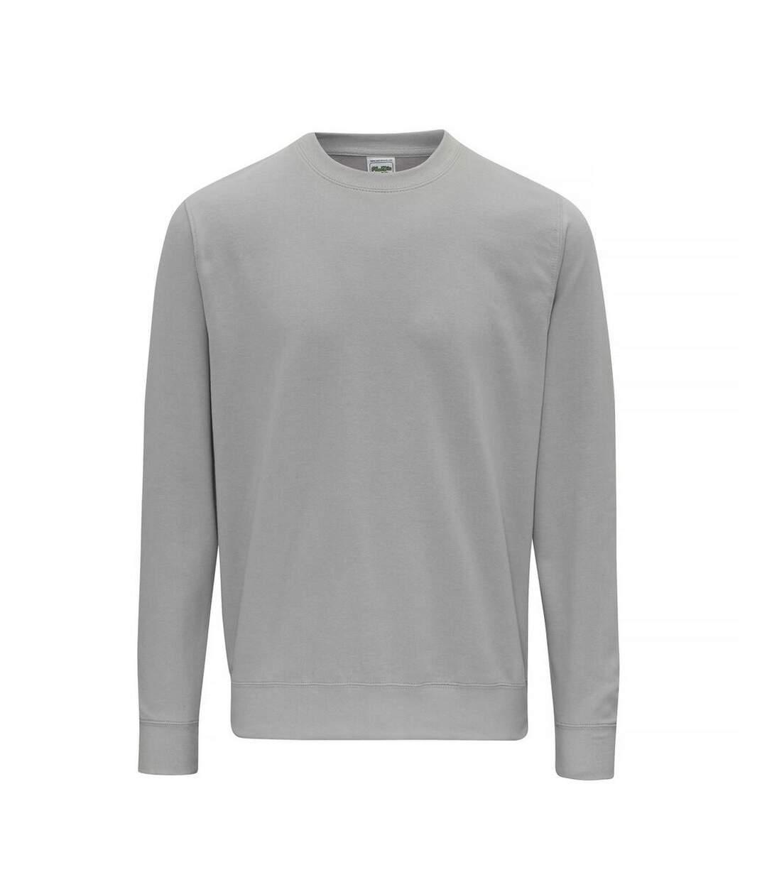AWDis Just Hoods AWDis Unisex Crew Neck Plain Sweatshirt (280 GSM) (Oxford Navy) - UTRW2014
