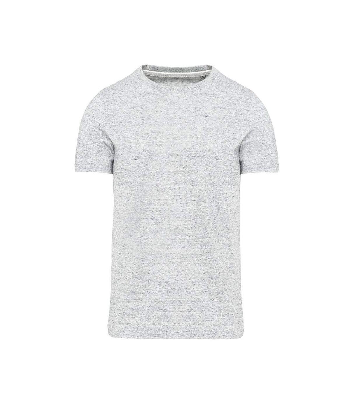Kariban - T-Shirt manches courtes VINTAGE - Homme (Gris clair chiné) - UTPC3765