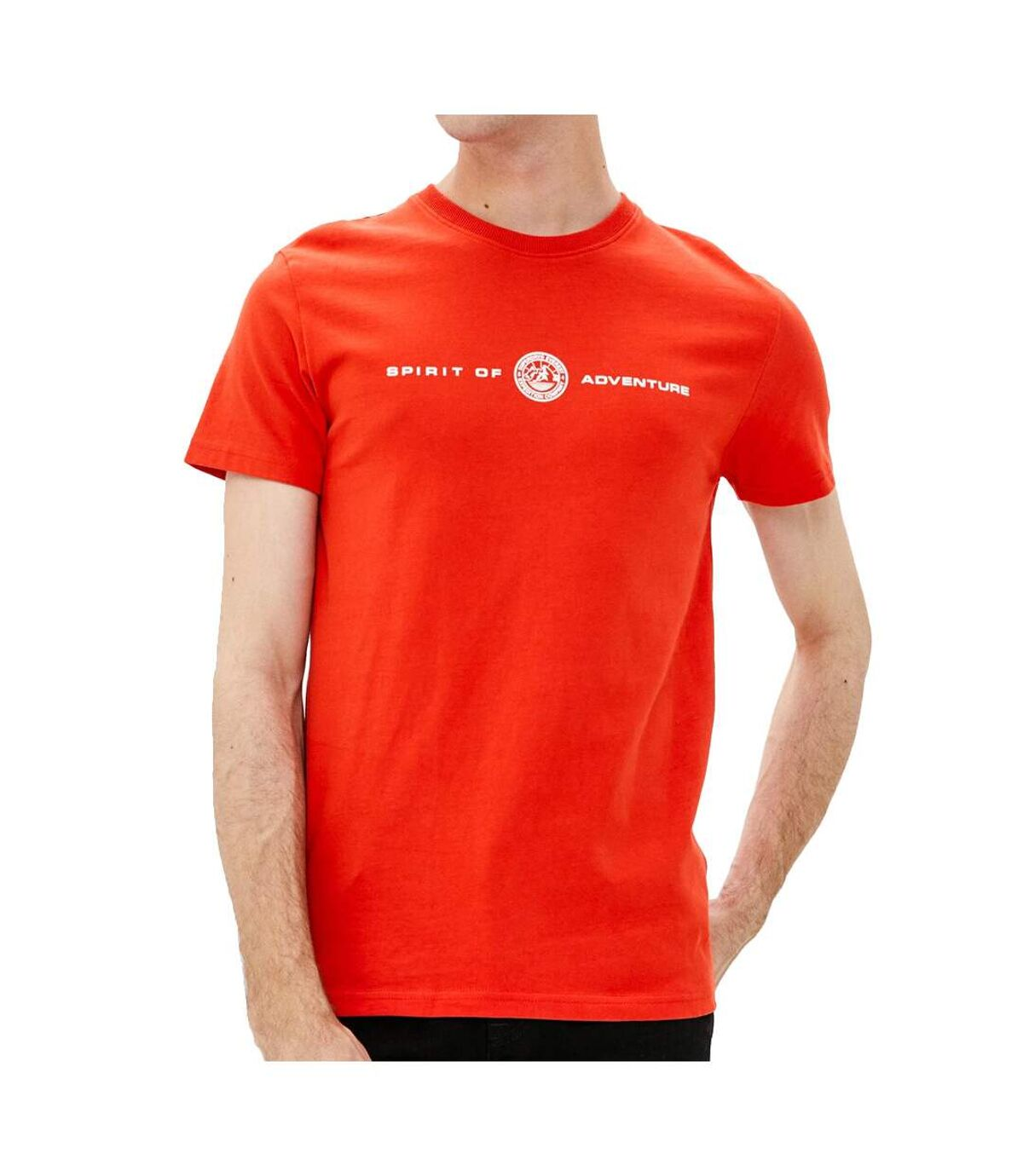 T-Shirt orange homme Superdry Everest Tee