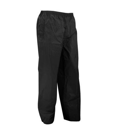Portwest Mens Classic Rain Trouser (S441) / Pants (Black) - UTRW1023