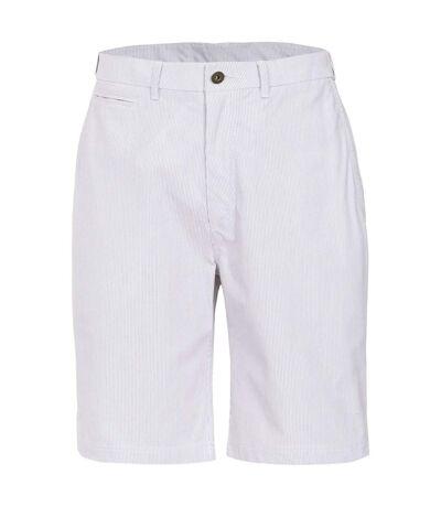 Trespass Mens Atom Casual Shorts (White Stripe) - UTTP3386