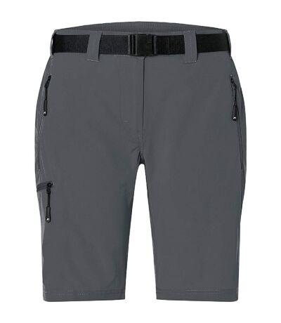 Short trekking femme - JN1203 - gris carbone