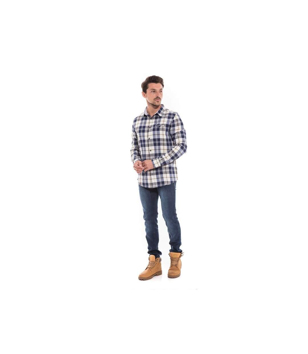 Chemise manches longues carreaux TUDINOX - RITCHIE
