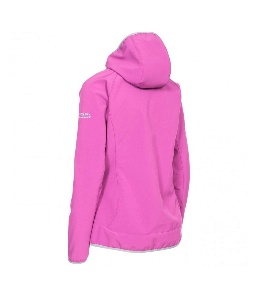 Trespass Womens/Ladies Imani Waterproof Softshell Jacket (Purple Orchid) - UTTP1278