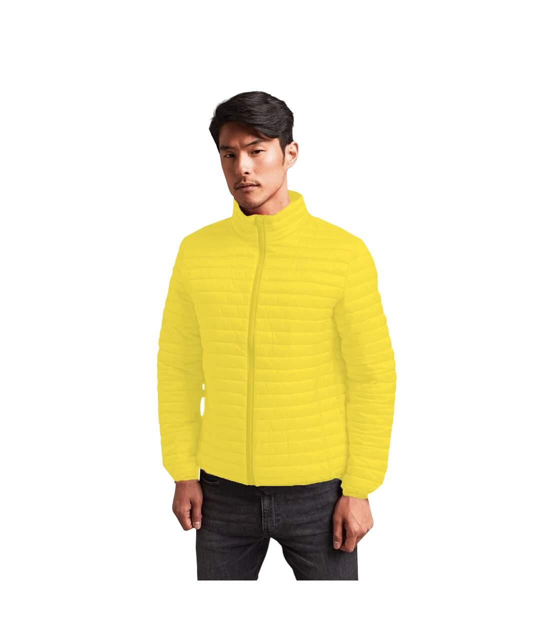 2786 Mens Tribe Fineline Padded Jacket (Red) - UTRW3846