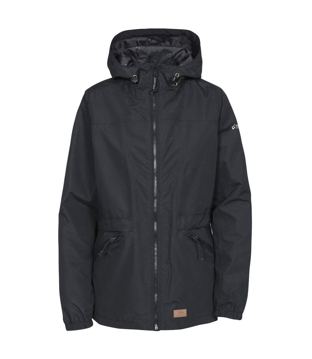 Trespass Womens/Ladies Cruella Waterproof Jacket (Black) - UTTP4017
