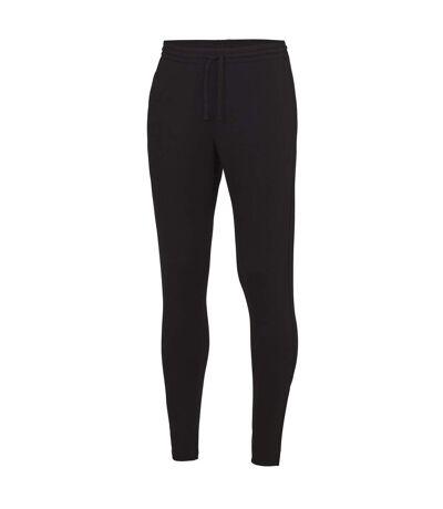 AWDis Just Cool Mens Tapered Jogging Bottoms (Jet Black) - UTRW4817