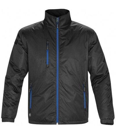 Stormtech Mens Axis Water Resistant Jacket (Black/Royal) - UTBC2079