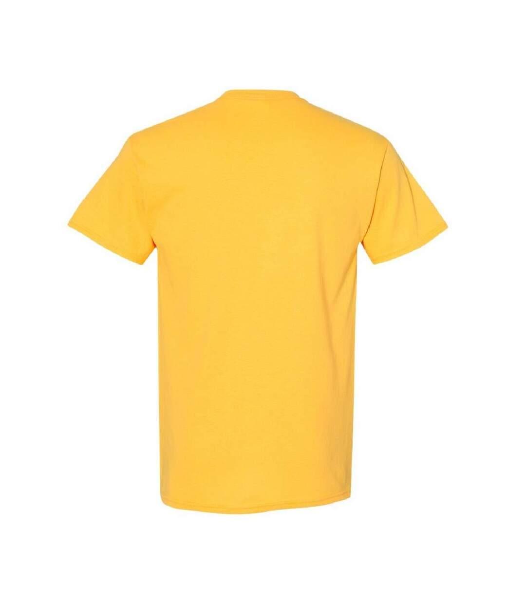 Gildan Mens Heavy Cotton Short Sleeve T-Shirt (Pack Of 5) (Charcoal) - UTBC4807