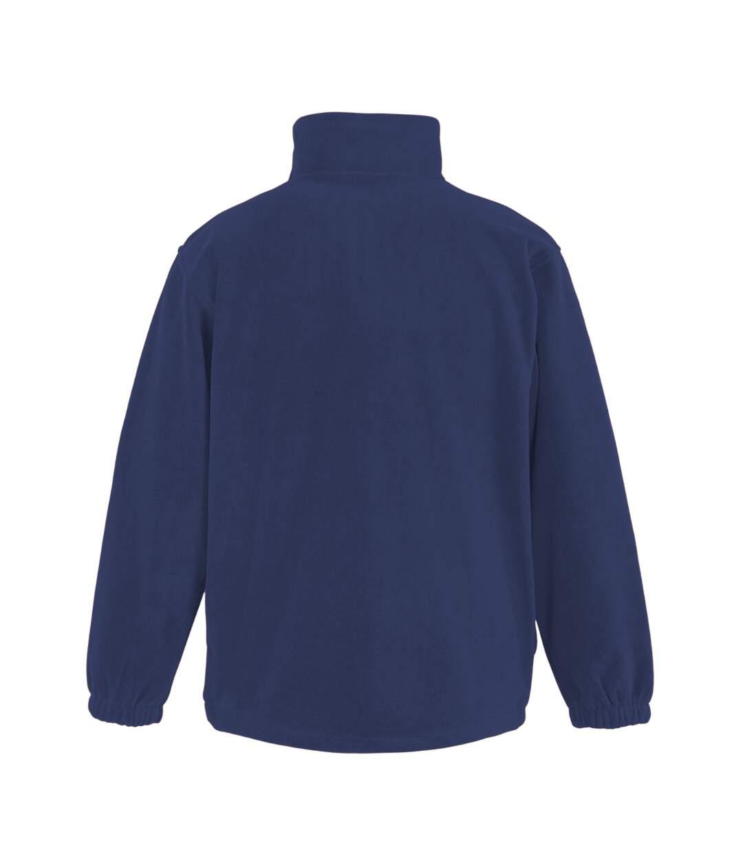 Result Mens Full Zip Active Fleece Anti Pilling Jacket (Navy Blue) - UTBC922