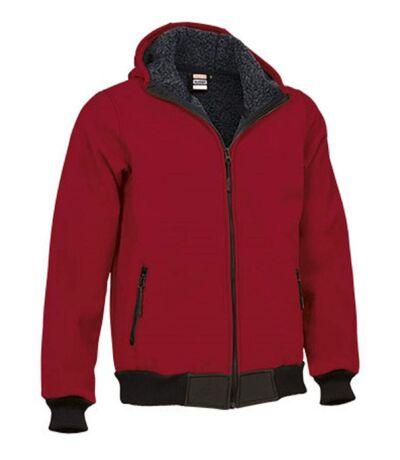 Blouson softshell - Homme - REF BLUMMER - rouge