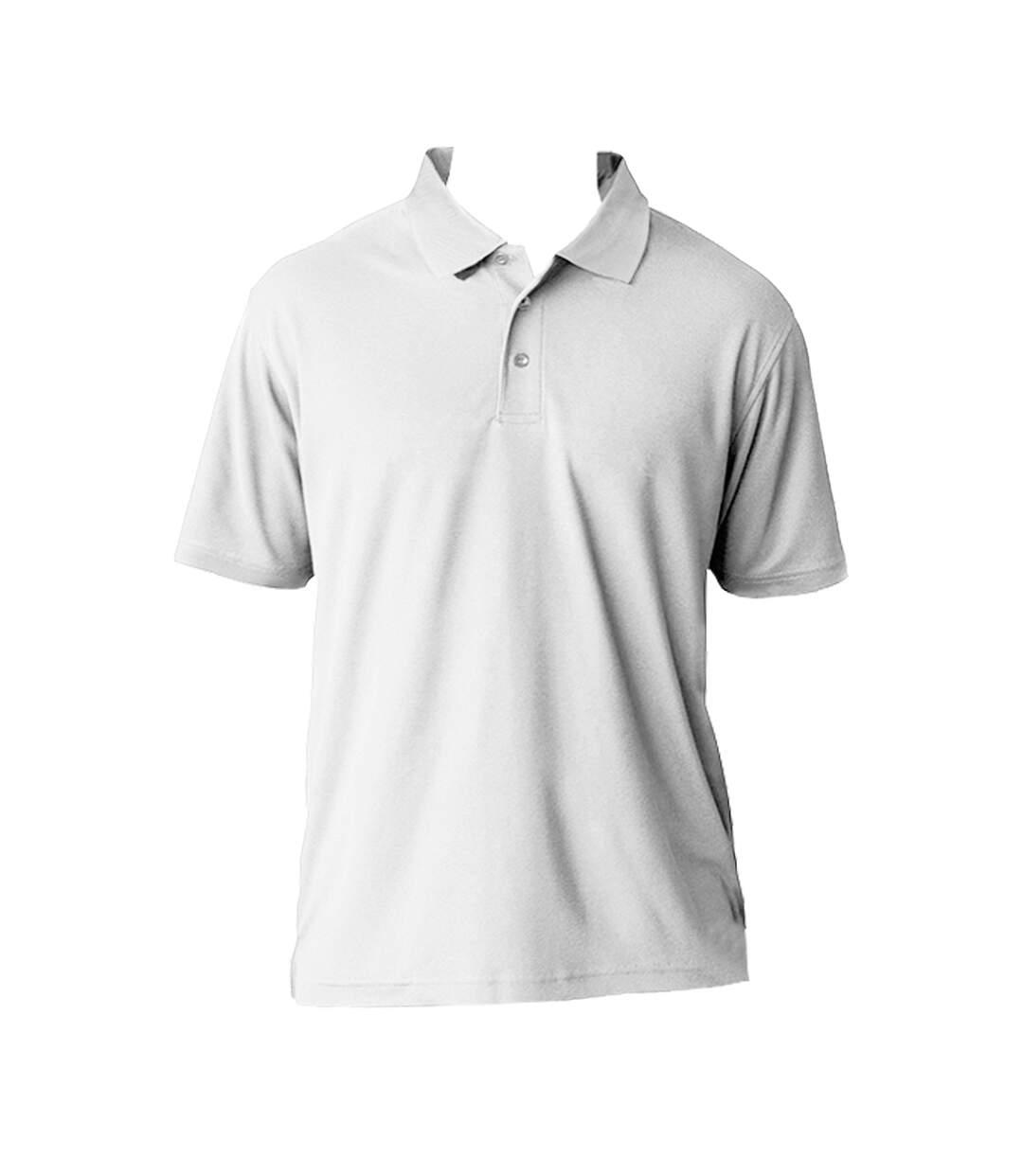 AWDis Cool Mens SuperCool Sports Performance Short Sleeve Polo Shirt (Arctic White) - UTRW2541