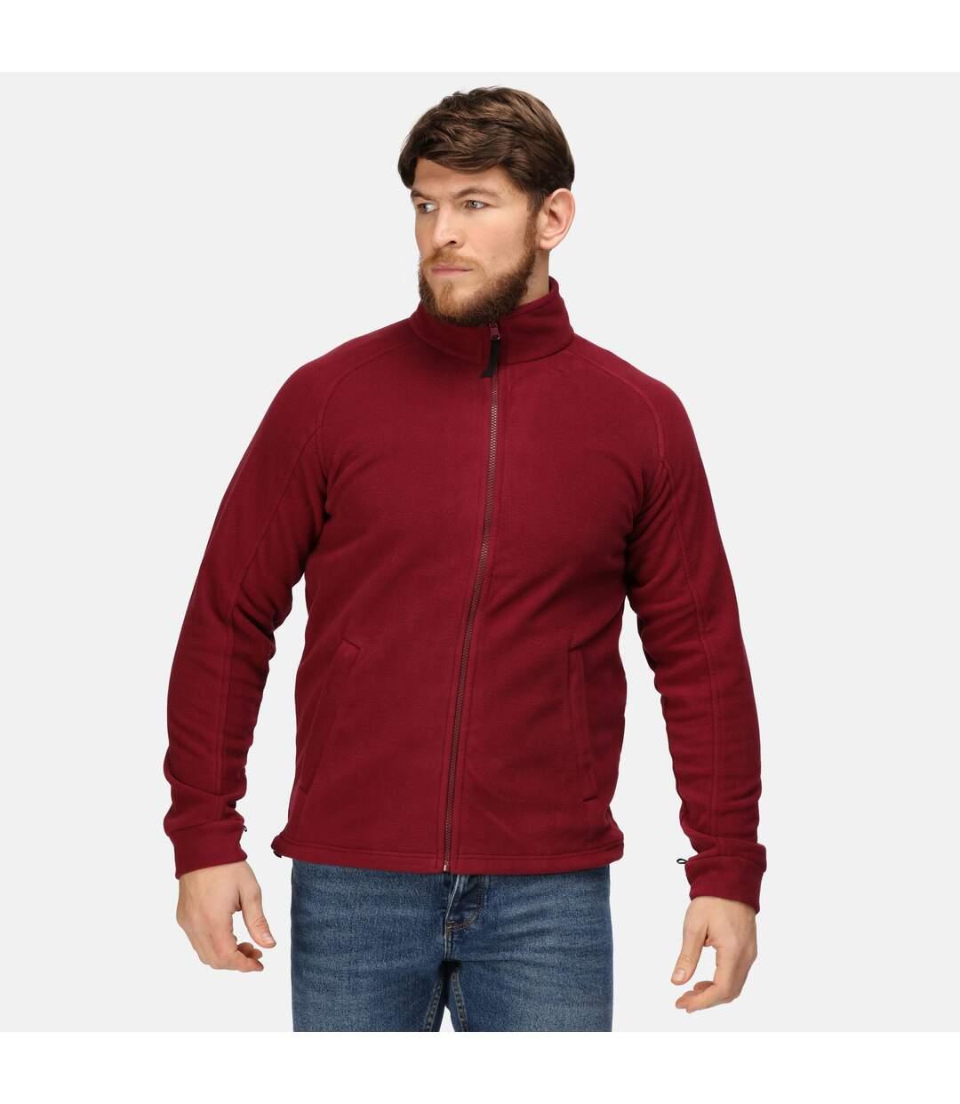 Regatta Mens Thor III Fleece Jacket (Bordeaux) - UTRG1486