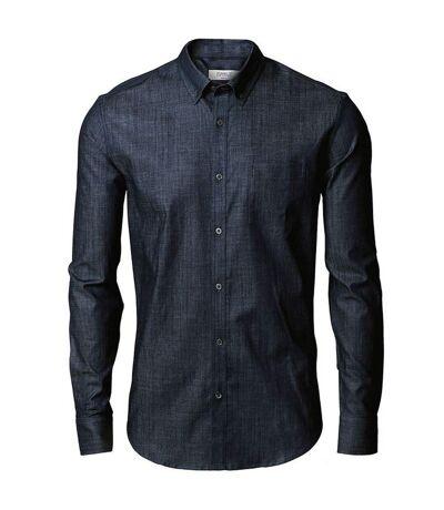 Nimbus Mens Torrance Casual Denim Shirt (Indigo Blue) - UTRW5438
