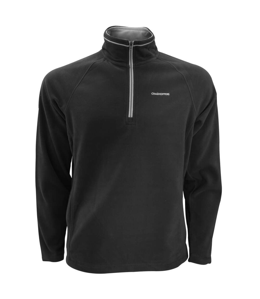 Craghoppers Mens Selby Half Zip Micro Fleece Top (Black) - UTRW3998