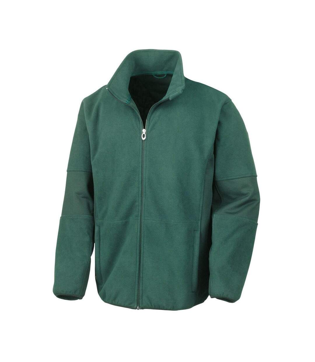 Result Mens Osaka TECH Performance Combined Pile Softshell Waterproof Windproof Jacket (Forest Green) - UTBC867