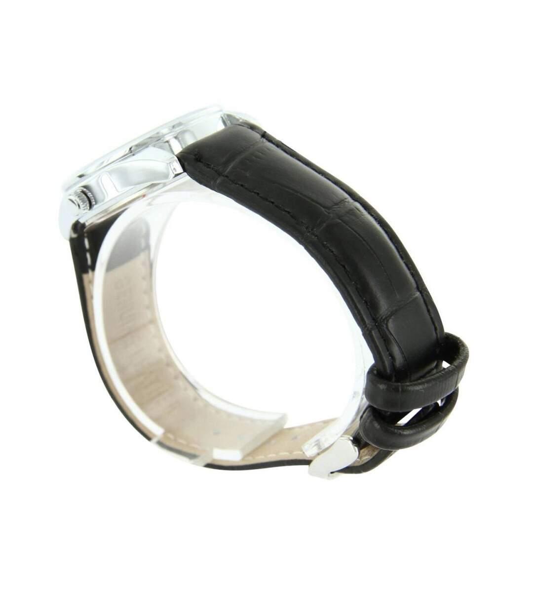Dégagement Montre Femme WAVE bracelet Cuir Noir dsf.d455nksdKLFHG