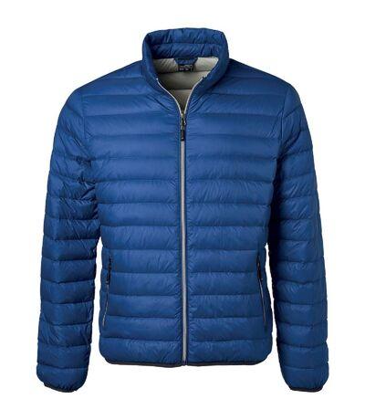 Veste doudoune matelassée duvet - JN1140 - bleu indigo - Homme