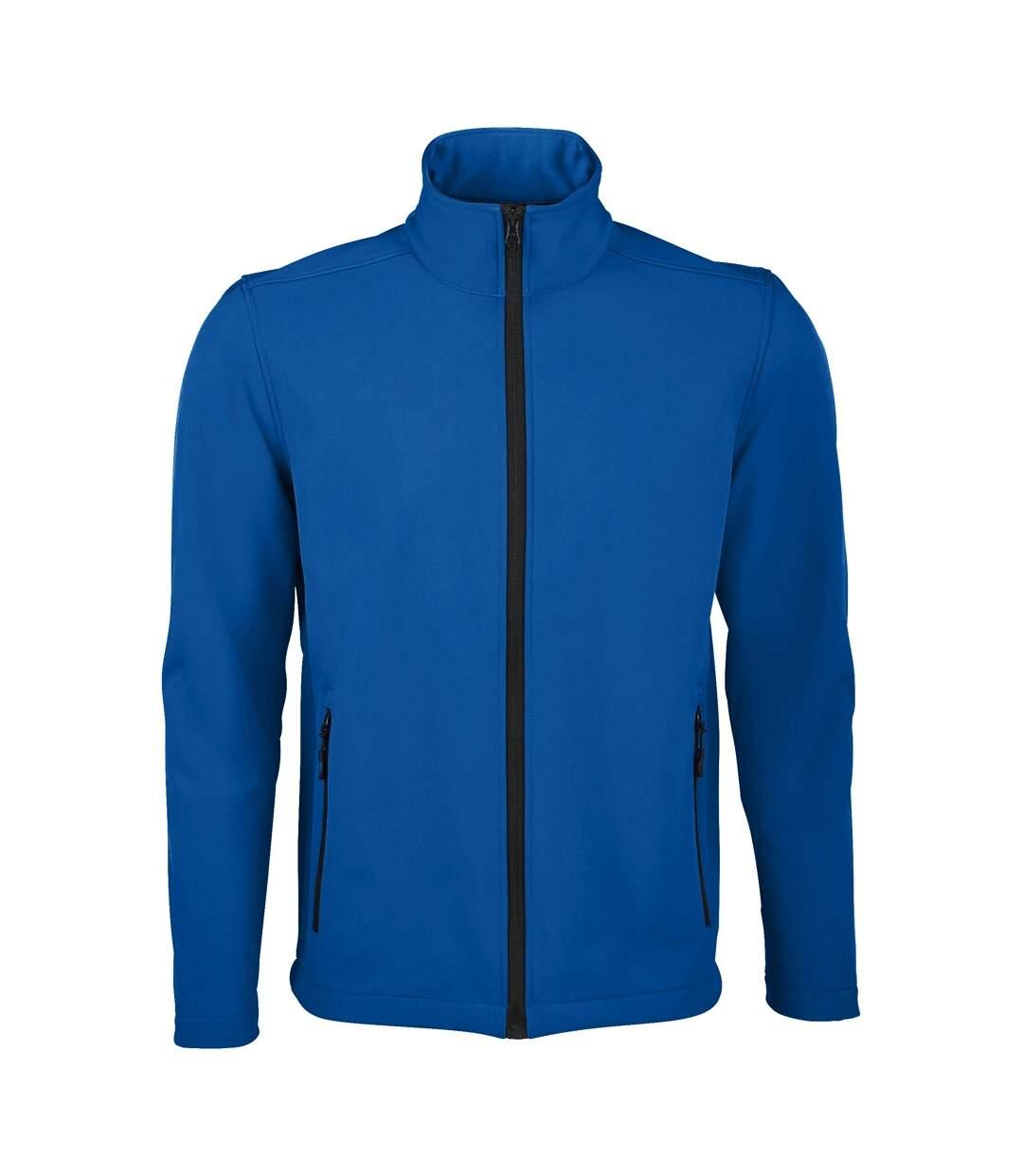 SOLS Mens Race Full Zip Water Repellent Softshell Jacket (Royal Blue) - UTPC2549