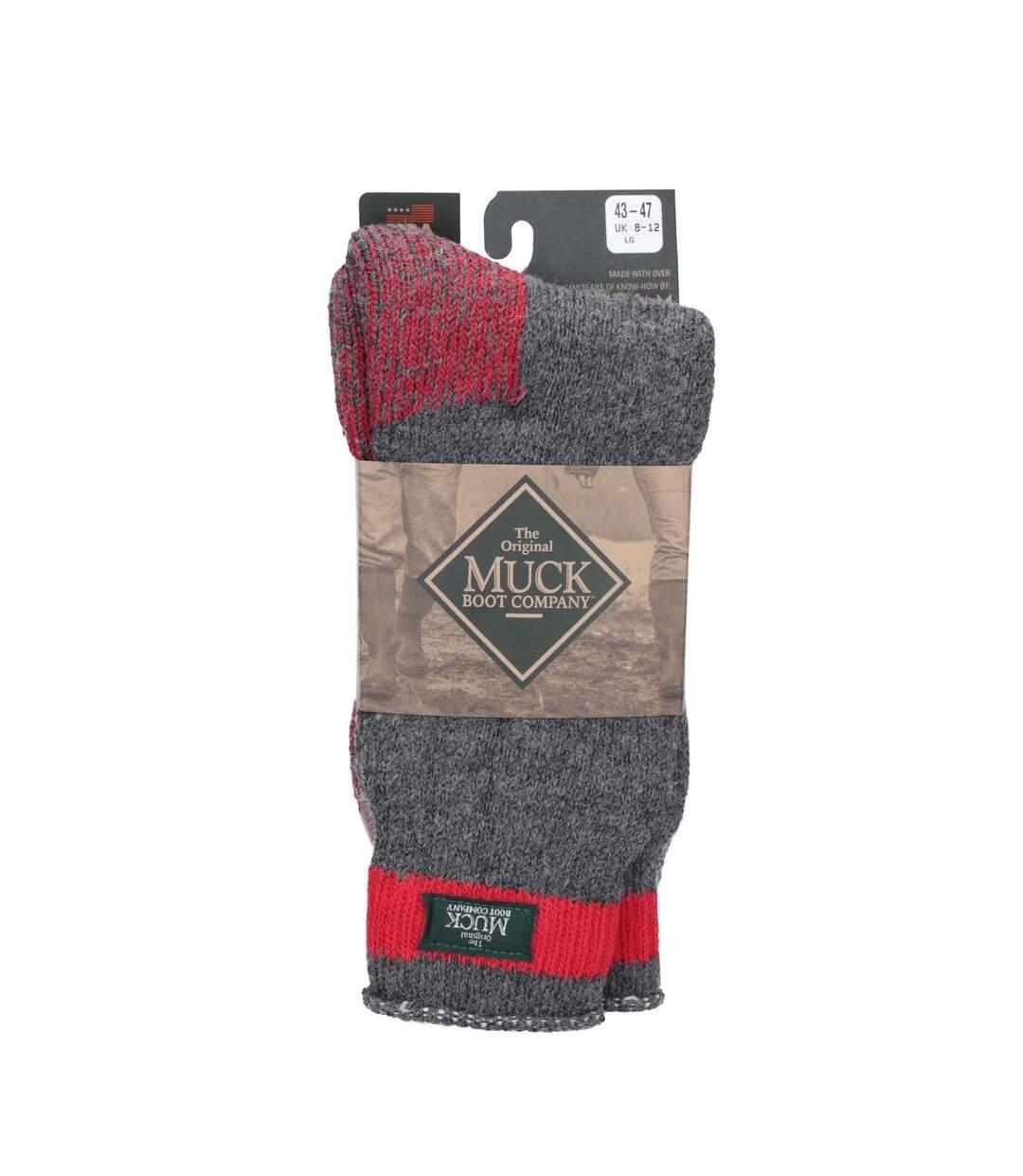 Muck Boots Mens Northwest Territory Sock (Charcoal) - UTFS5900