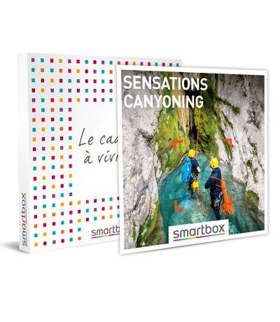 SMARTBOX - Sensations canyoning - Coffret Cadeau Sport & Aventure