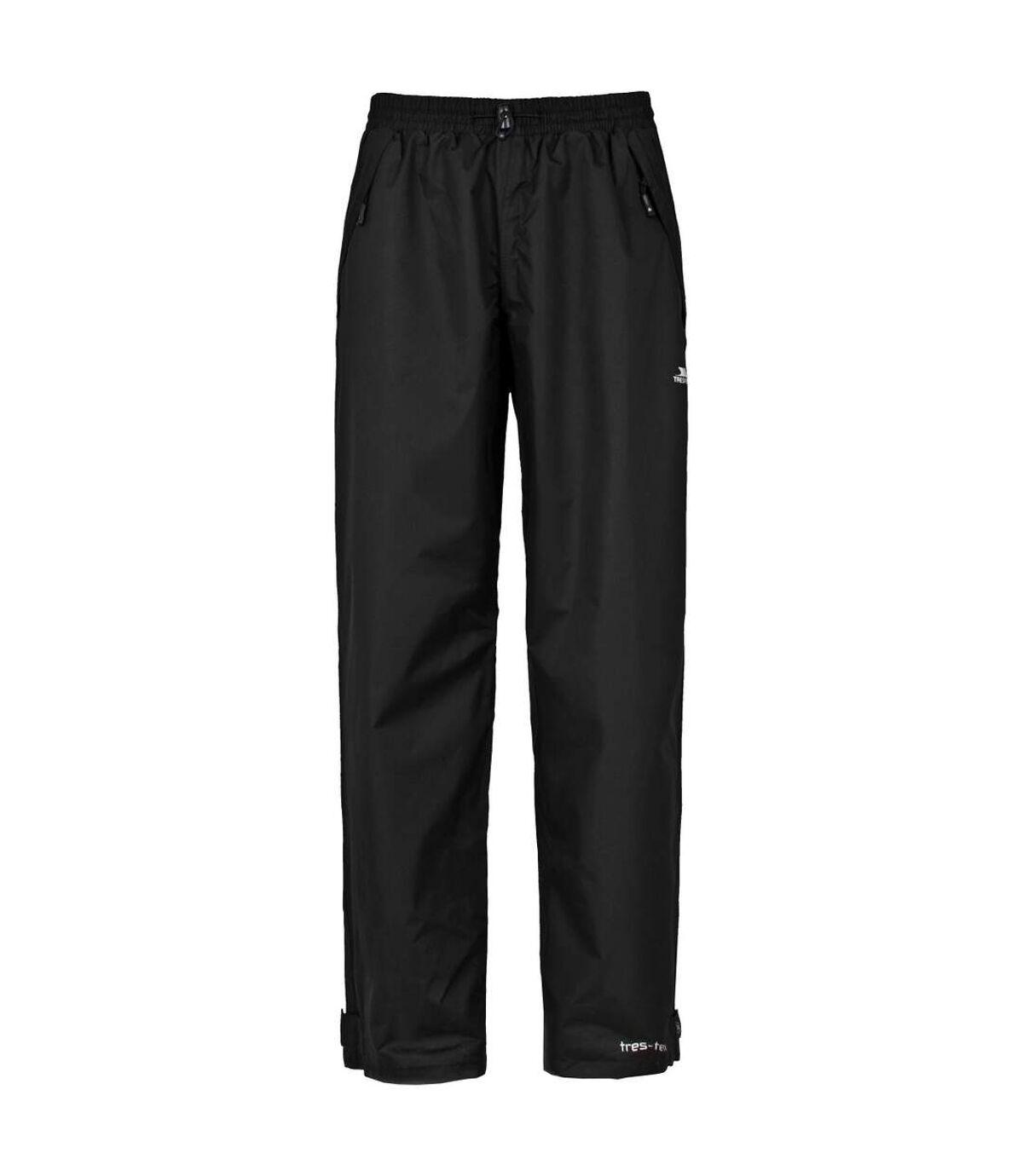 Trespass Mens Corvo Waterproof & Windproof Trousers (Black) - UTTP222