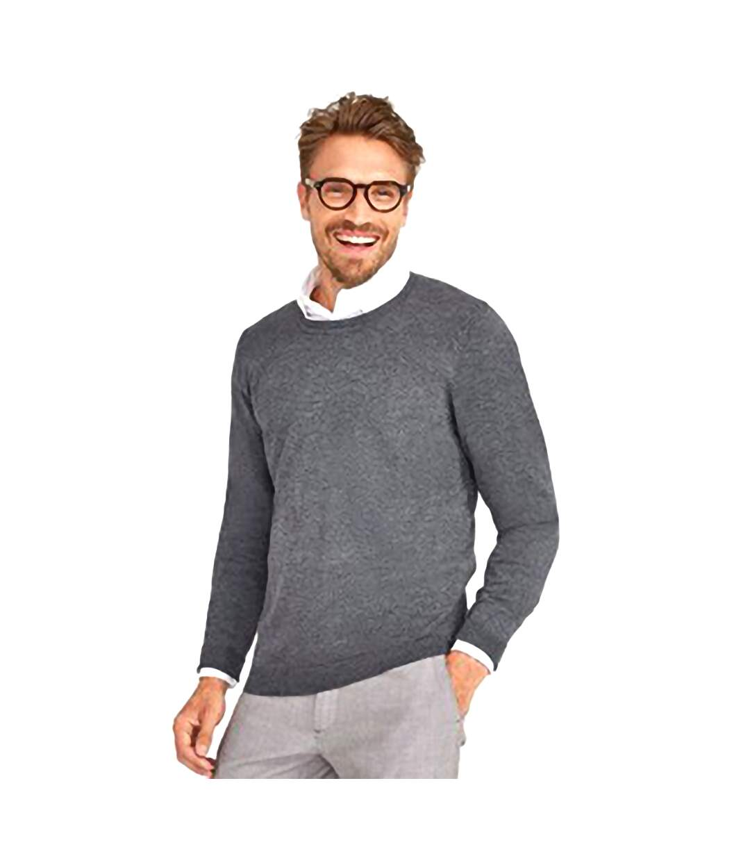 SOLS Mens Perfect Pique Short Sleeve Polo Shirt (Charcoal Marl) - UTPC283