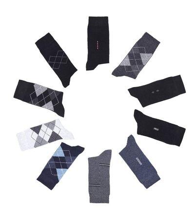Lot de 10 paires de chaussettes fantaisie