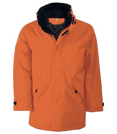 Parka Homme doublure matelassée - K677 - orange