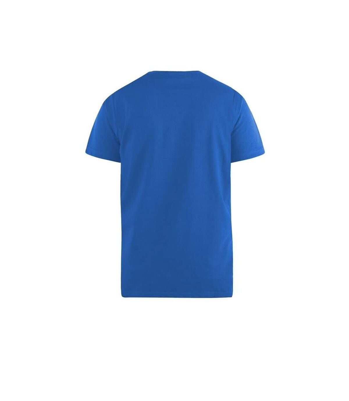 Duke Mens Signature-2 V-Neck T-Shirt (Blue) - UTDC167