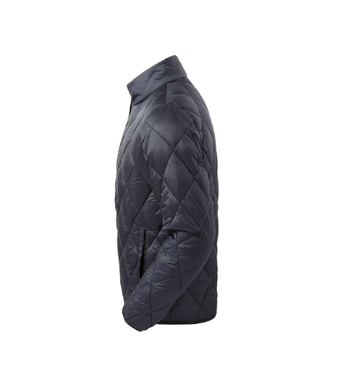 2786 Mens Diamond Pane Padded Jacket (Navy) - UTRW7333