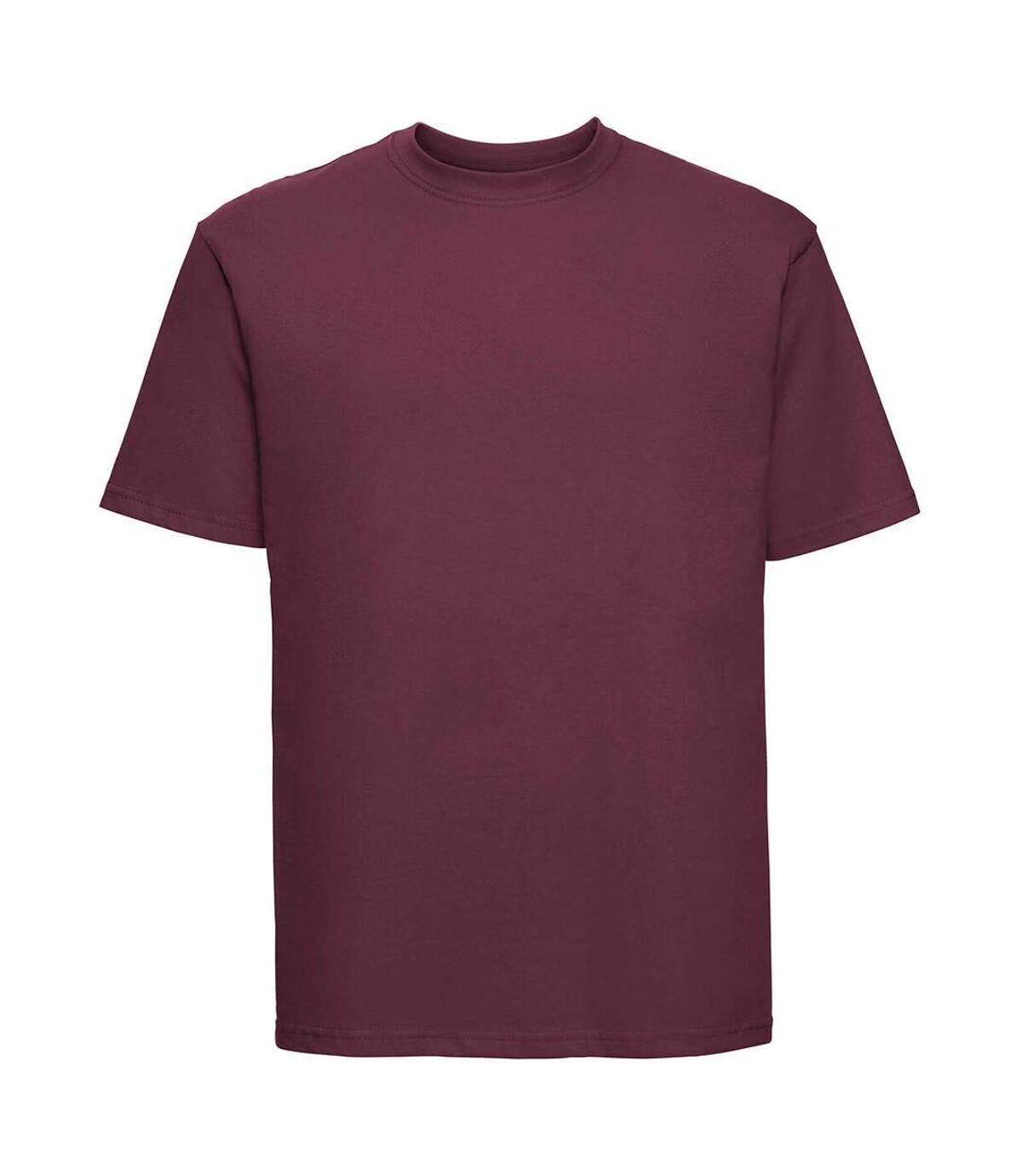 Russell - T-shirt à manches courtes - Homme (Bordeaux) - UTBC577