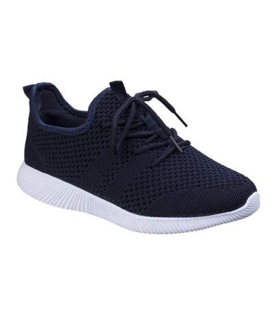 Divaz Womens/Ladies Heidi Knit Shoes (Navy) - UTFS5108