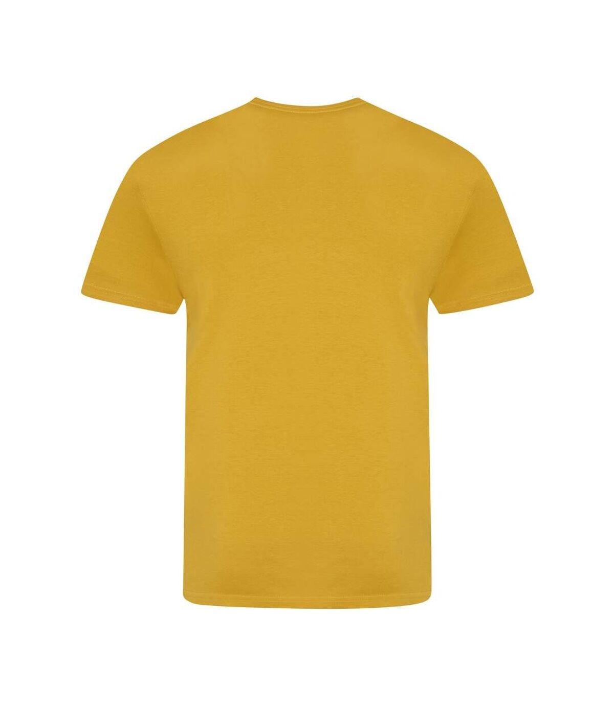 AWDis Just Ts Mens The 100 T-Shirt (Mustard) - UTPC4081