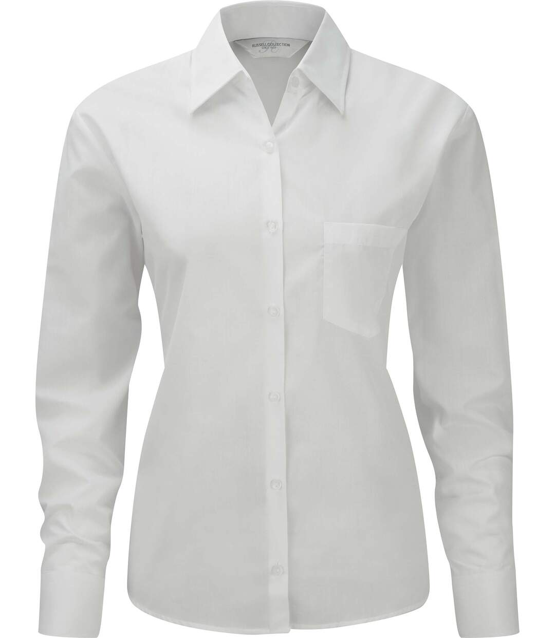 Chemise manches longues popeline