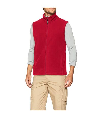 Regatta Mens Micro Fleece Bodywarmer / Gilet (Classic Red) - UTRG1624