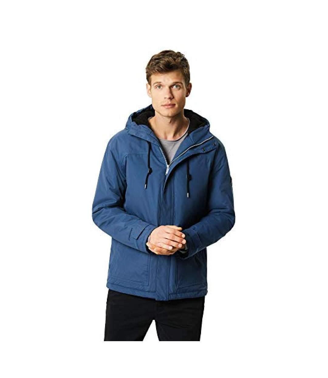 Regatta Mens Syrus Hooded Jacket (Dark Denim) - UTRG3678