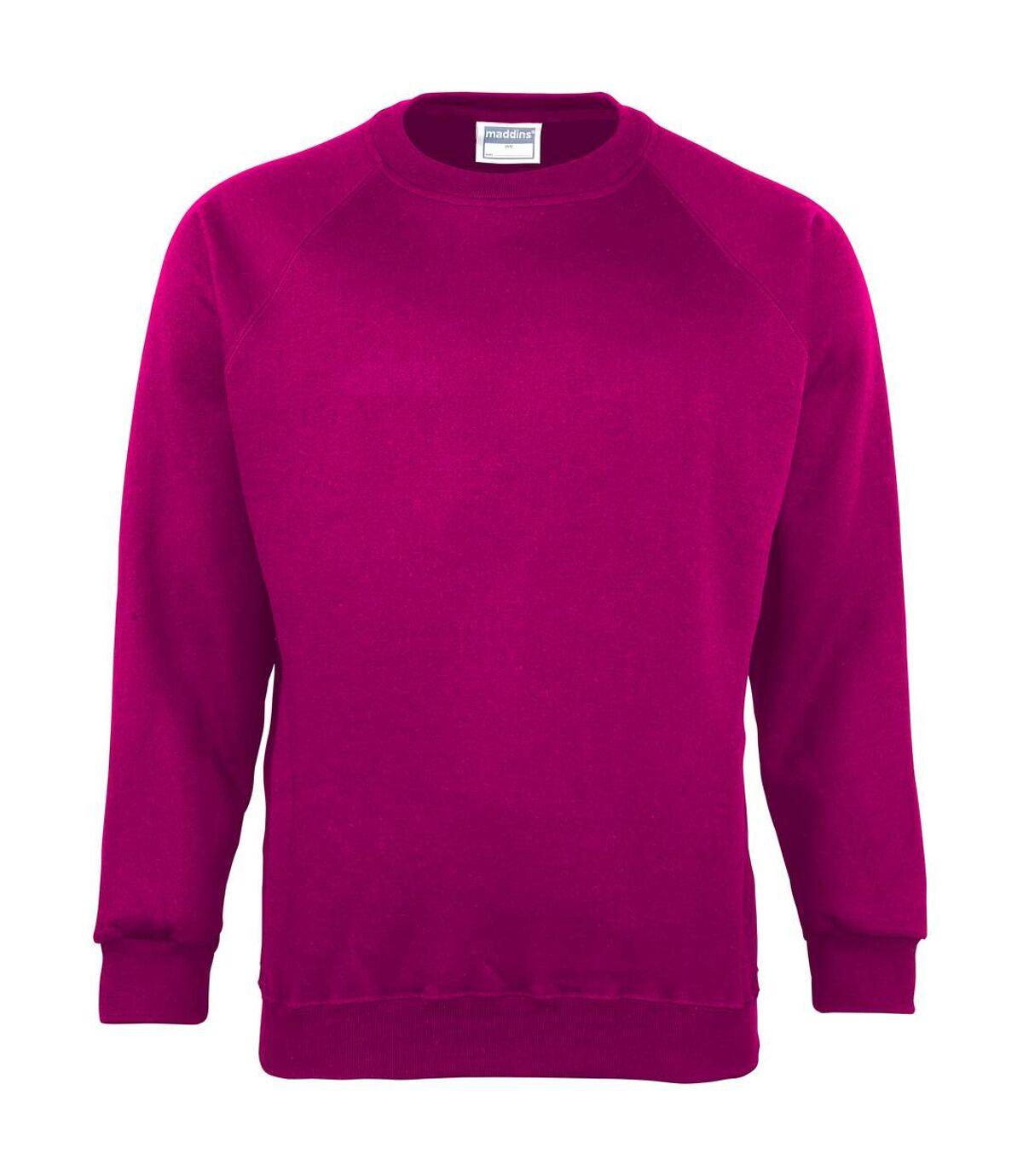 Maddins - Sweatshirt - Homme (Gris Oxford) - UTRW842