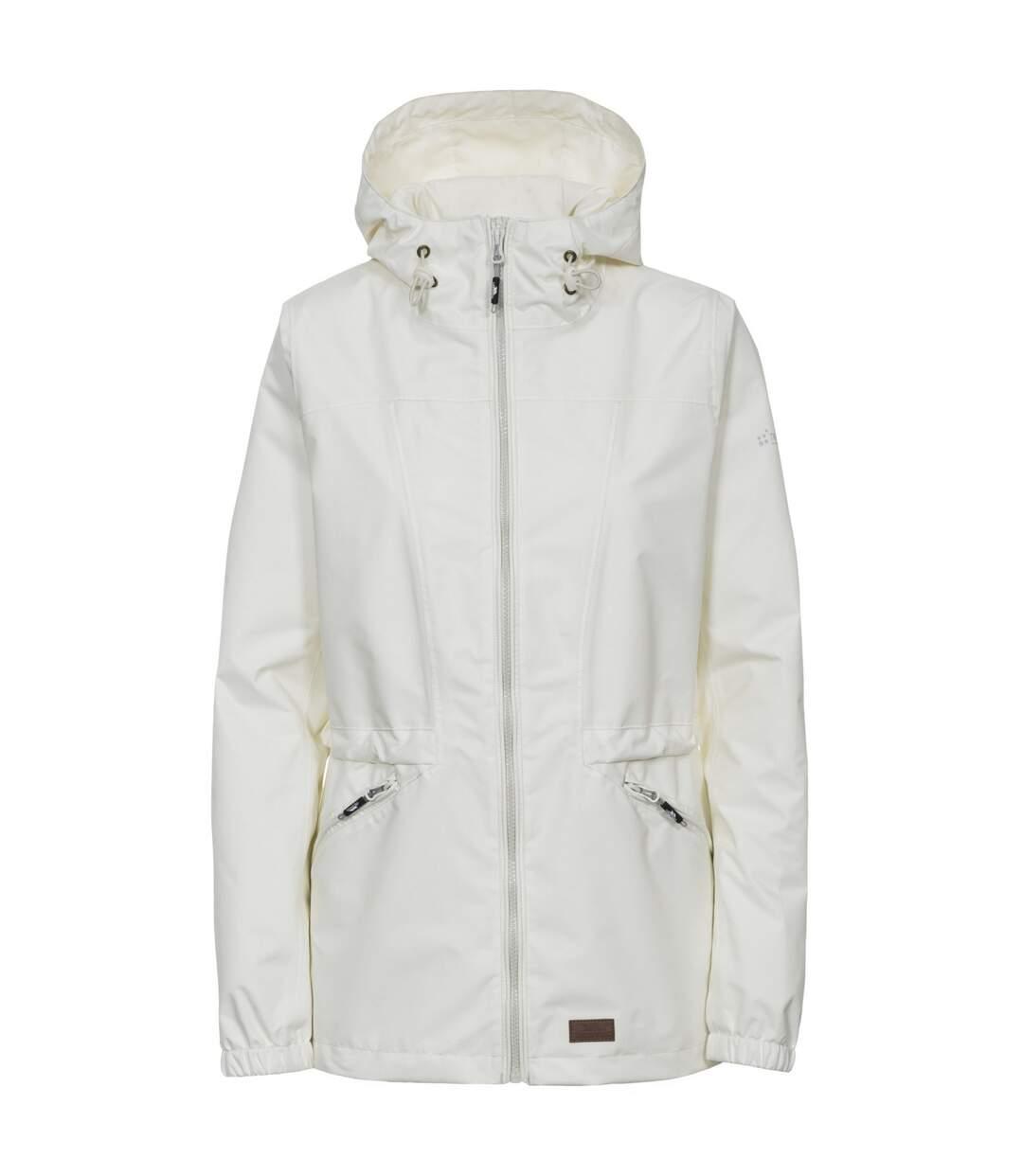 Trespass Womens/Ladies Cruella Waterproof Jacket (Cream) - UTTP4017