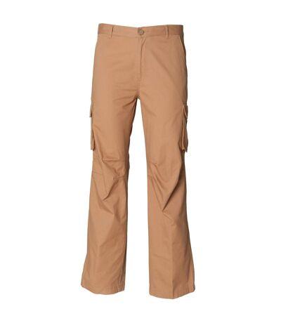 Skinni Fit - Pantalon cargo 100% coton - Homme (Sable) - UTRW1410